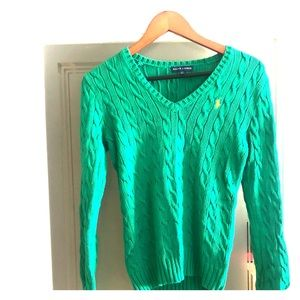 Ralph Lauren Cable Knot Sweater